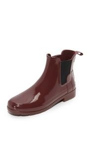Оригинальные изысканные ботильоны челси Hunter Boots