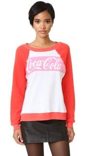 Классическая толстовка Coca-Cola Wildfox