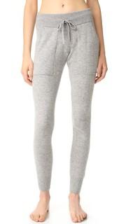Кашемировые брюки Essential White + Warren