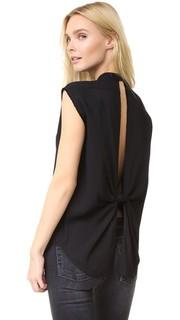 Рубашка с узлом на спине Helmut Lang