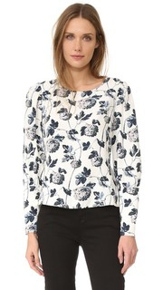 Etheline Printed Top Club Monaco