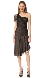 One Shoulder Asymmetrical Dress J. Mendel