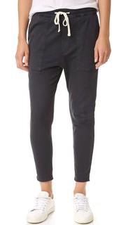 Свободные брюки из твила James Perse