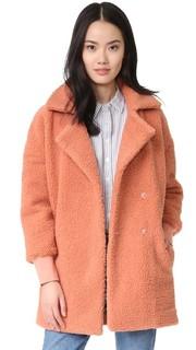 Пальто-бомбер Fine Side из искусственного меха Minkpink
