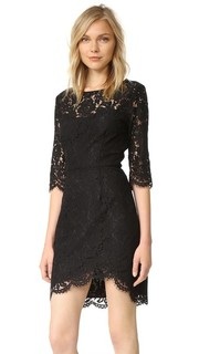 Joby Fitted Lace Dress Cupcakes and Cashmere