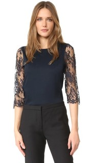 Lace Sleeve Top Leur Logette
