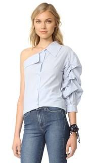 Рубашка с одним открытым плечом ONE by Stylekeepers