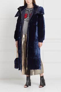 Бархатное пальто Stella Mc Cartney