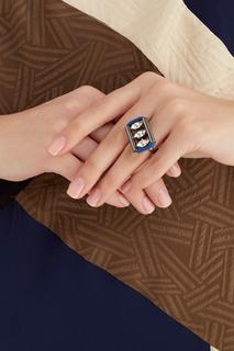 Кольцо с кристаллами Anton Heunis