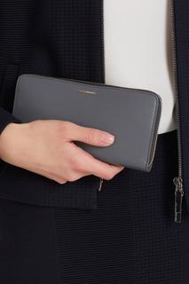 Кожаный кошелек Stapie Hugo Boss