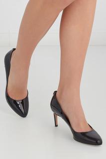 Туфли из лакированной кожи Stapie Hugo Boss