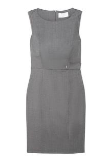 Шерстяное платье Daflink Hugo Boss