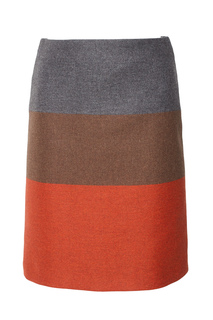 Шерстяная юбка Malivi Hugo Boss