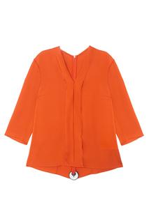 Шелковая блузка Ikarsi Hugo Boss
