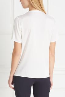 Шелковая блузка Bilinka Hugo Boss