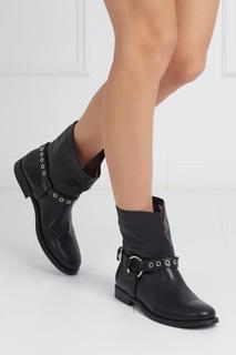 Кожаные ботинки QUEENSTEAD Burberry