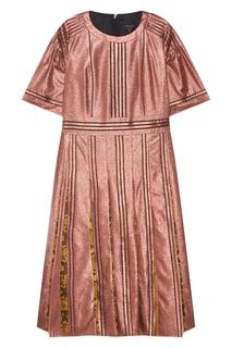 Шелковое платье Burberry