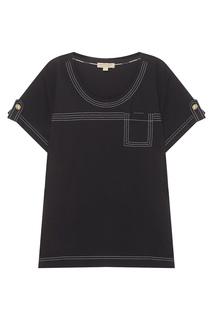 Хлопковая футболка Burberry