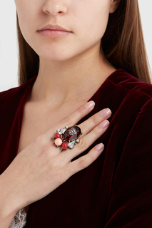 Кольцо с кристаллами Romi Anton Heunis