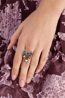 Кольцо с кристаллами Bug Anton Heunis