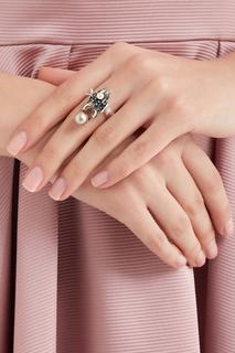 Кольцо с кристаллами Scarab Anton Heunis