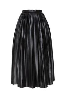 Кожаная юбка Alexander Terekhov