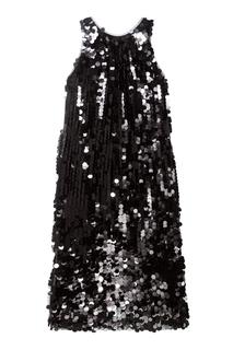 Шелковое платье с пайетками Alexander Terekhov