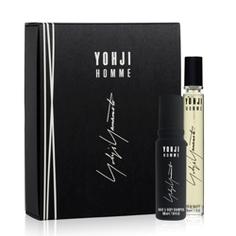 YOHJI YAMAMOTO Подарочный набор Yohji Homme Туалетная вода, спрей 30 мл + Шампунь для волос и тела 100 мл