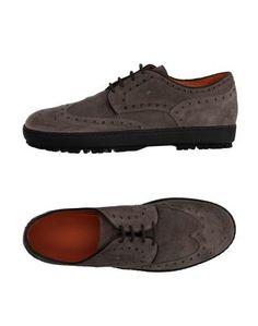 Обувь на шнурках Santoni Club