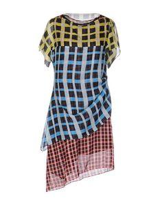 Короткое платье Pollini BY Rifat Ozbek