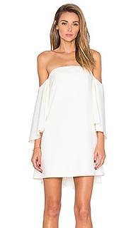 Платье с открытыми плечами mila - MILLY