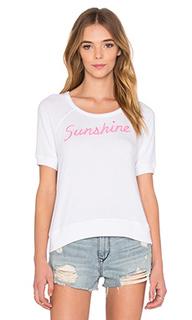 Вязаный пуловер с коротким рукавом sunshine - SUNDRY