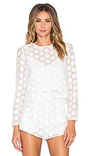 Блузка в горошек soleil - Line & Dot