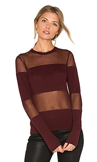 Прозрачный свитер с длинным рукавом - Hoss Intropia