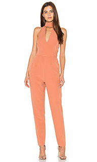 Keyhole high neck jumpsuit - Lavish Alice
