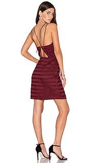 Мини платье без рукавов с v-образным вырезом - Endless Rose