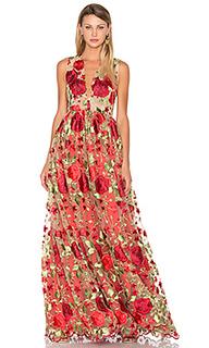 Цветочное вечернее платье kate - Lurelly