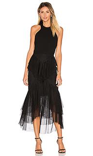 Orlando bow back ruffle dress - Rebecca Vallance