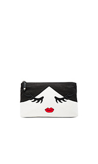 Сумка косметичка stace face wink - Alice + Olivia