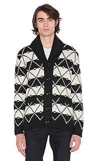 Core jacquard shawl cardigan - G-Star