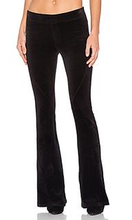 Slim flare velour pant - Pam & Gela