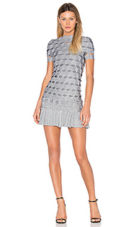 Joana zig zag mini dress - LOLITTA