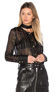 Блуза с завязкой на шее - FRAME Denim