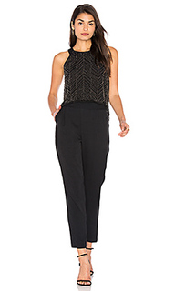 Frances beaded mesh jumpsuit - Ella Moss