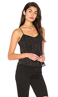 Frances beaded mesh cami - Ella Moss