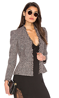 Houndstooth tweed jacket - Rebecca Taylor