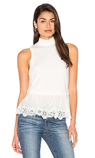 Terry lace top - Rebecca Taylor