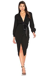 Миди платье с длинным рукавом roosevelt - BEC&BRIDGE Bec&Bridge