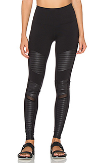 High waisted moto legging - alo