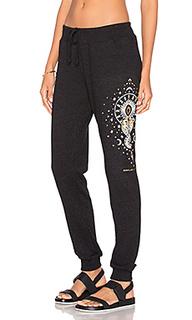 Свободные брюки mystical moon - Spiritual Gangster